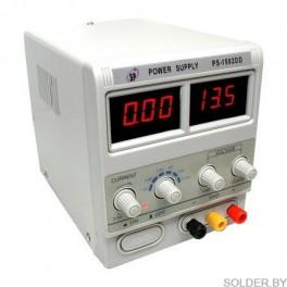 Блок питания цифровой Yaxun PS-1502DD (15V, 2A, защита по току)