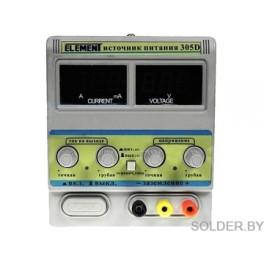 Лабораторный блок питания ELEMENT 305D (30V 5A)