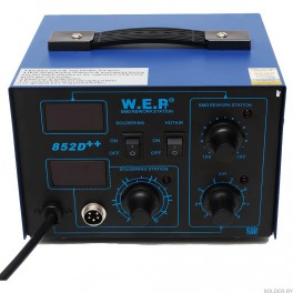 Станция паяльная W.E.P 852D++