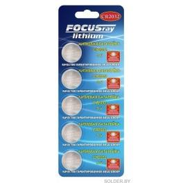 Батарейка FOCUSray CR2032  BL5  5/100/2400