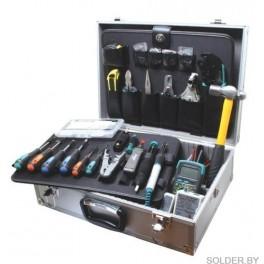 Набор большой инструментов для обслуживания сетей  PK-4302BM