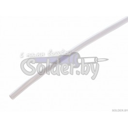 Н-1, 5.0 / 2.5 мм 1м термоусадка прозрачная REXANT арт. 20-5009